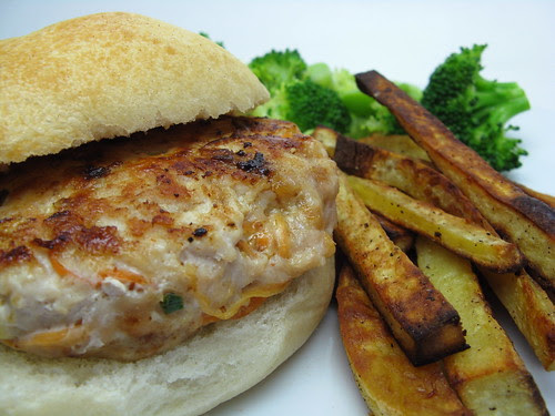 Peanut Turkey Burger