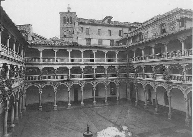 Convento de San Pedro Mártir a comienzos del siglo XX. Foto Rodríguez