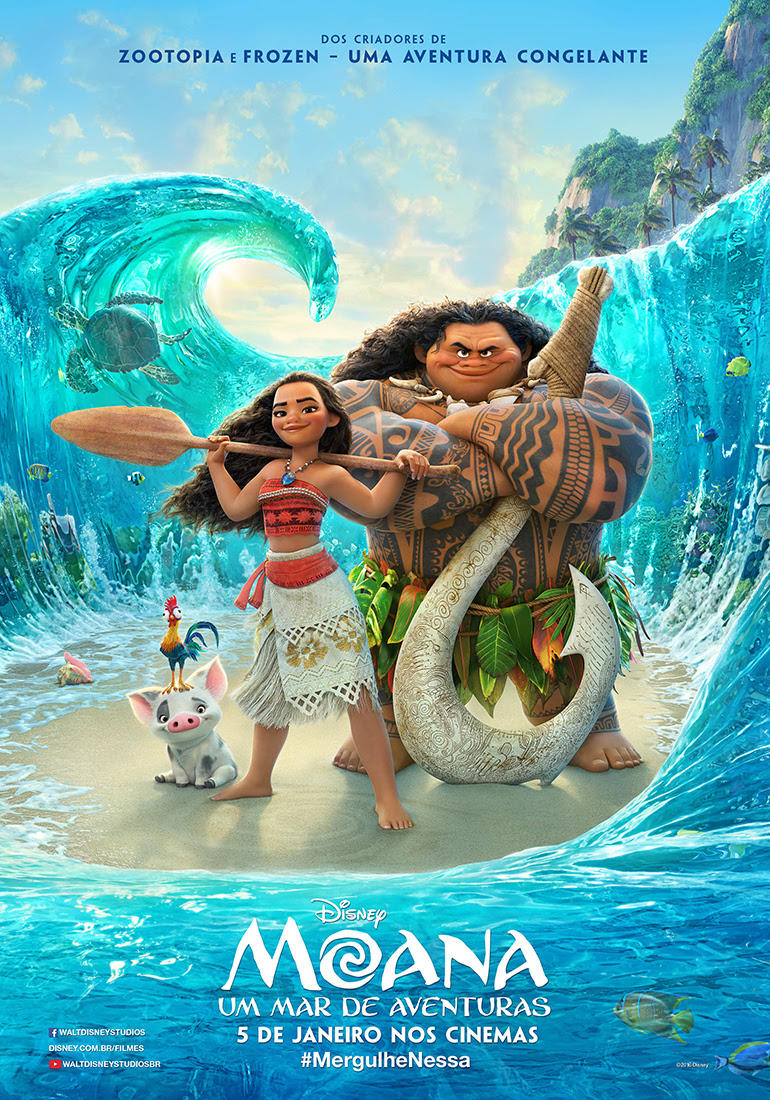 Cartaz do filme Moana