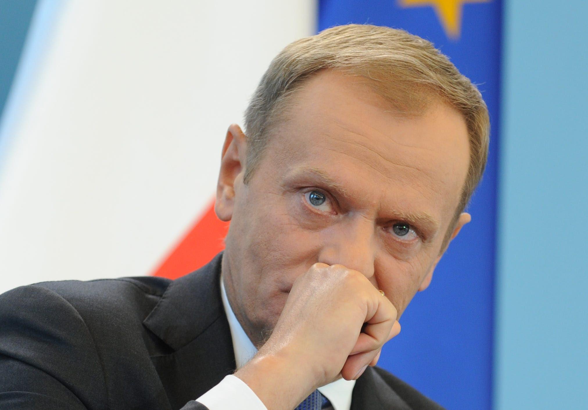 Primeiro-ministro polonês Donald Tusk