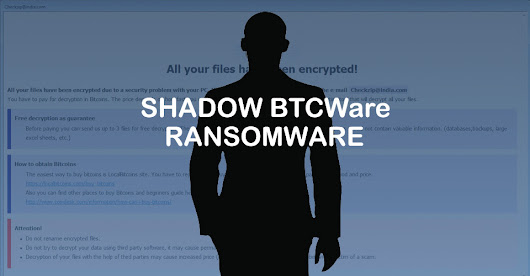 New Shadow BTCware Ransomware Variant Released