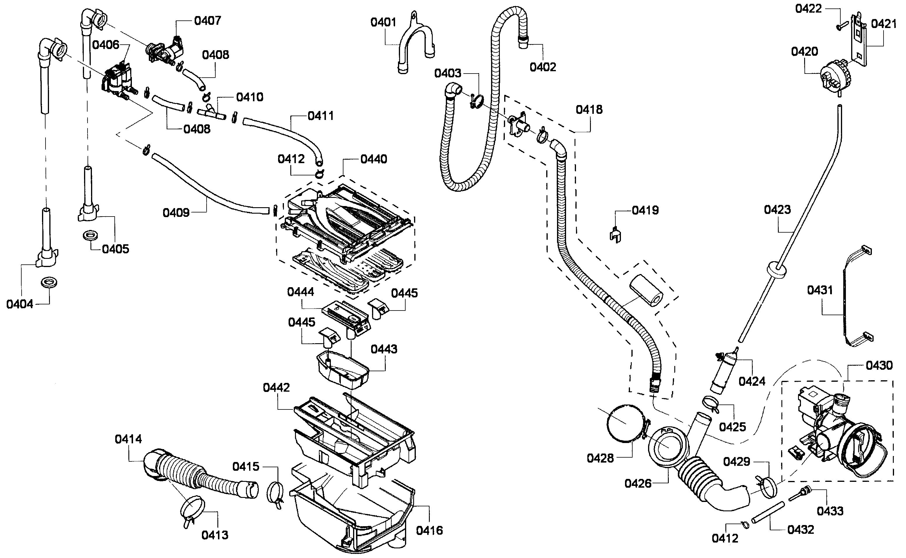 Wiring Diagram: 32 Bosch Nexxt 500 Series Dryer Parts Diagram