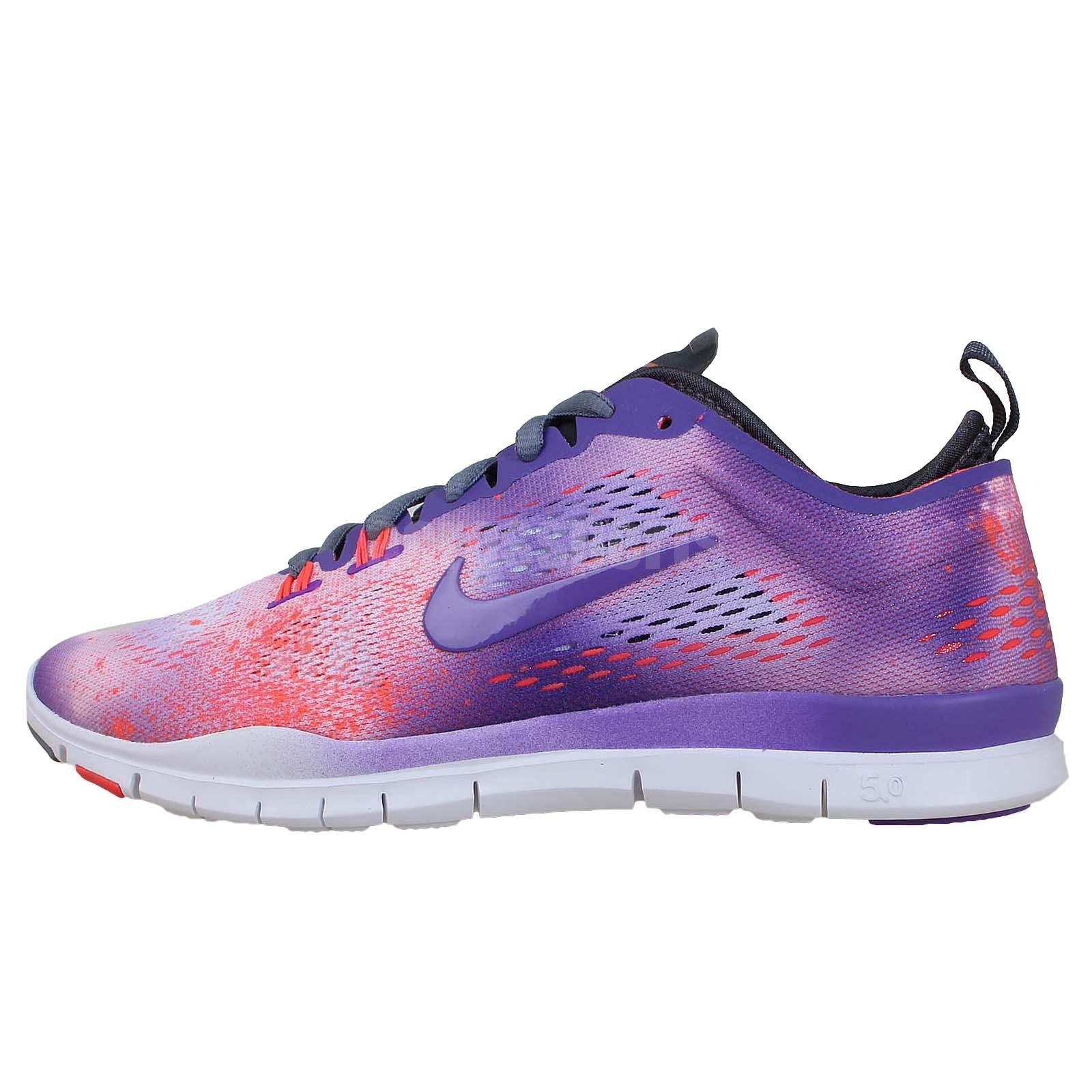 Nike Wmns Free 5.0 TR Fit 4 PRT Print Galaxy 2014 Womens Cross Training Shoes   eBay