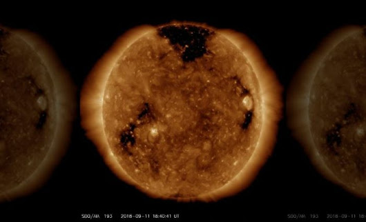 Northern Lights get boost by hole in Sun's atmosphere