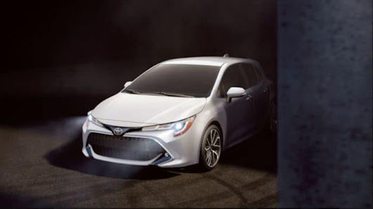 The 2019 Toyota Corolla Hatchback is on its Way | Schaumburg Toyota