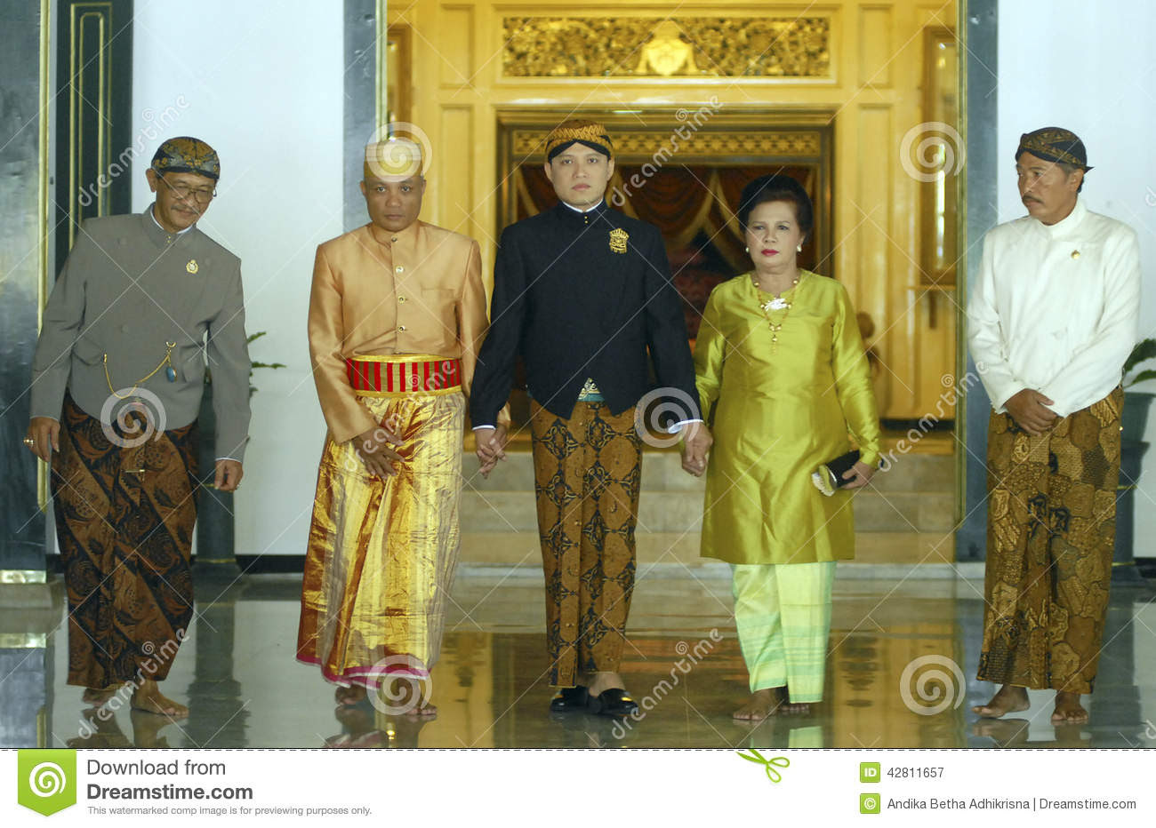 INDONESIAN TRADITIONAL WEDDING RITUALS Editorial Photography  Image: 42811657