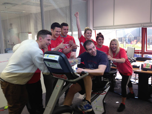 We did our bit for Sport Relief!