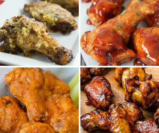 10 Delicious Game Day Wing Recipes - An Alli Event