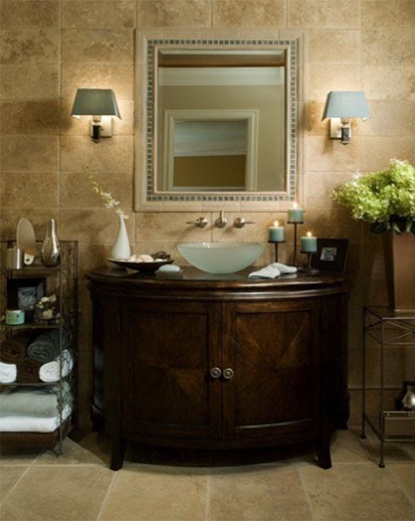 25 Tuscan Bathroom Design Ideas - Decoration Love