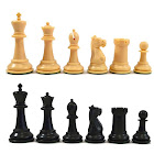 """Marshall Series Plastic Chess Pieces with 2.875"""" King"""