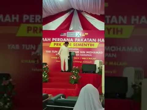 Jamal Abdillah Nyanyi Lagu Pedajal PH Di Semenyih !!