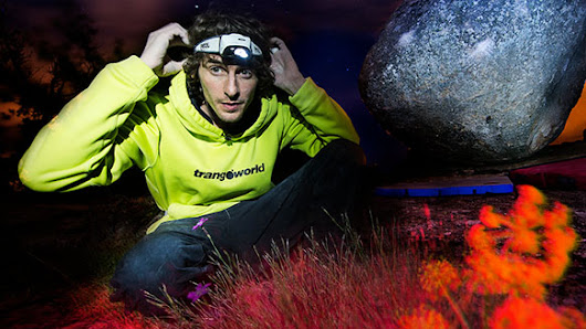 News - Petzl Night Bouldering with Dave Graham