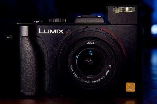 Lumix LX5 - Flash