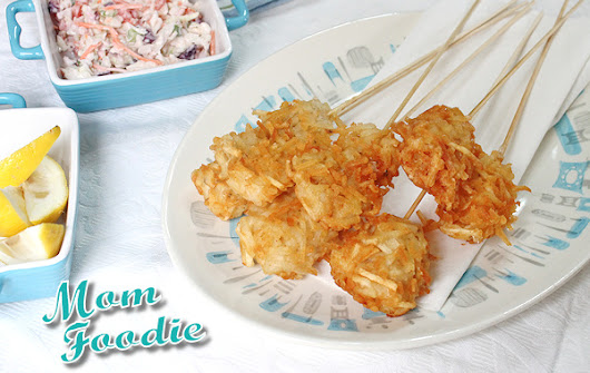 Fish & Chips on-a-stick Recipe : A Fun Meal or Appetizer