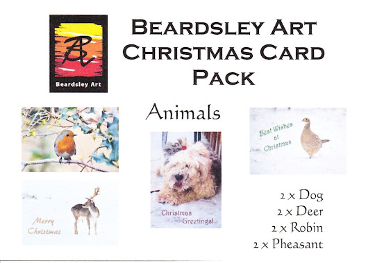 New Christmas Cards Available - Beardsley Art