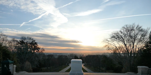 (VIDEO) Watch A Beautiful Sunrise Timelapse At The Tomb Of The Unknown Soldier