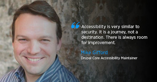 Mike Gifford discusses Drupal, Accessibility related issues