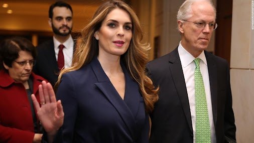 "#WhiteHouse #Communications #Director #Hope #Hicks #plays the ""I'm Just another silly #Stupid #Model..."