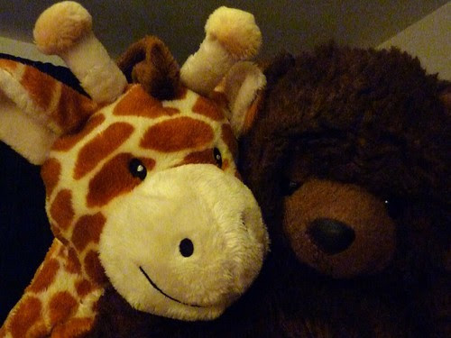 Sid with his new friend by florriebassingbourn, on Flickr