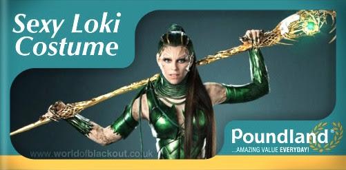 Rita Repulsa: Poundland Sexy-Loki!