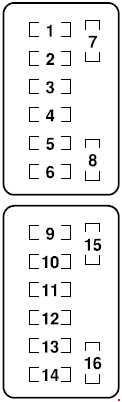 Mazda Rx 8 Fuse Box Diagram Fuse Diagram