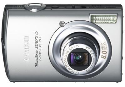 Canon PowerShot SD870 IS Digital Camera
