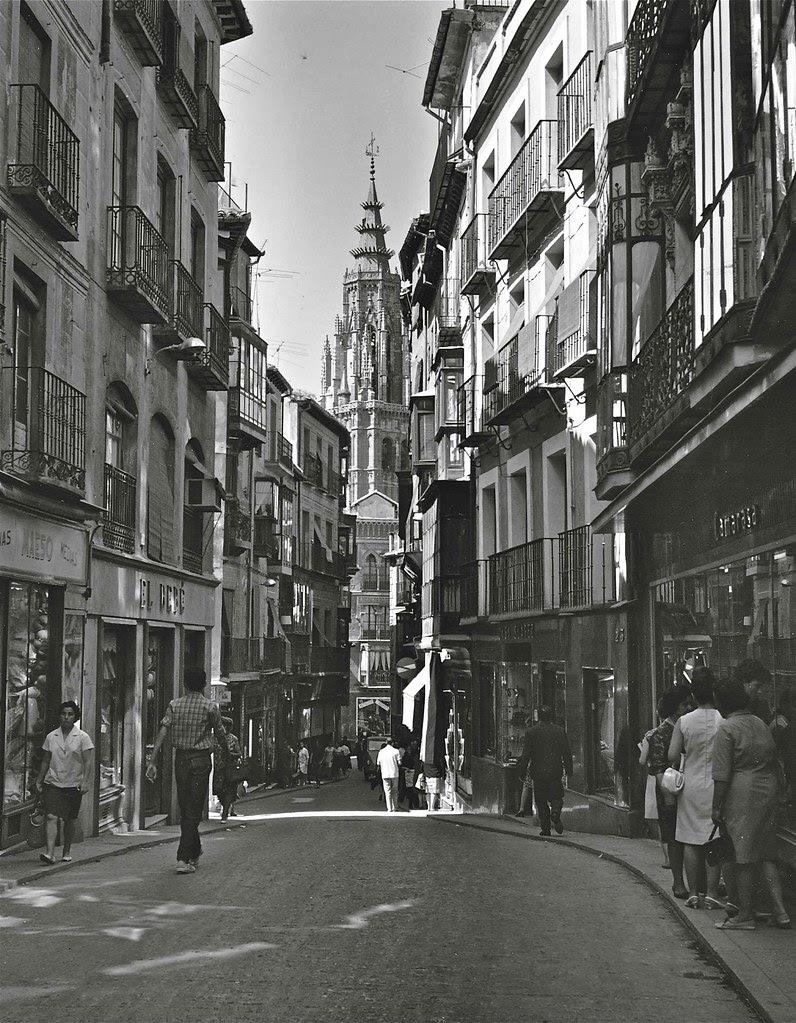 Calle Ancha o del Comercio en 1967. Fotografía de John Fyfe