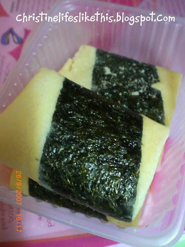 egg rolls with seaweed