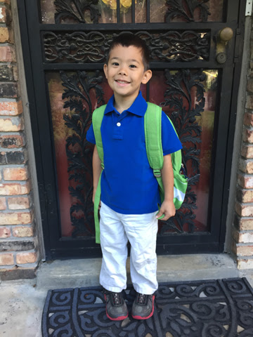 First Day of School 2015 (part 1)
