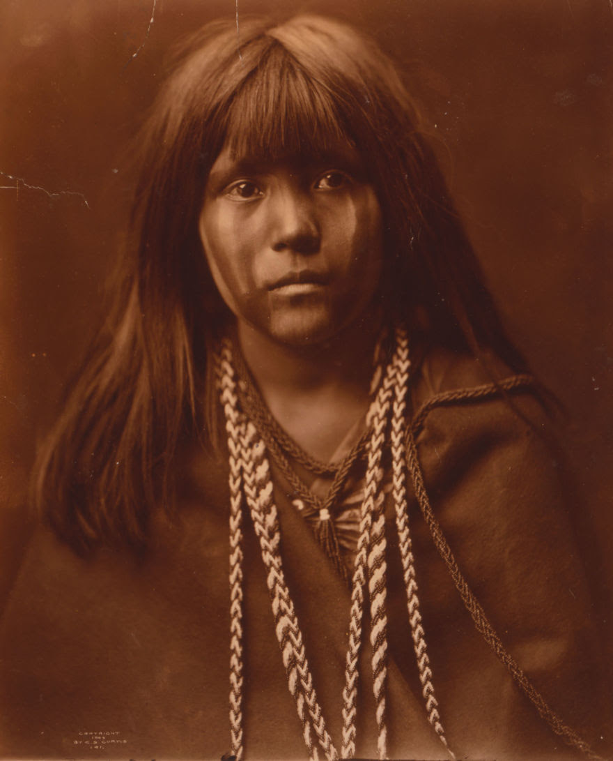 Mohave woman, 1903