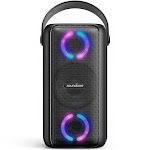 Soundcore Trance Speaker Bluetooth Speaker, Party Speaker, BassUp Technology, Huge 80W Sound, LED Lights,App, IPX7 Waterproof for Indoors and Outdoors