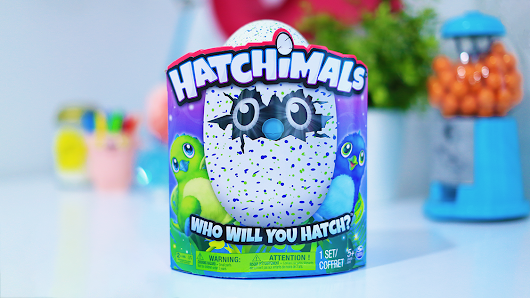 "Hatchimals ""Draggles"" (Blue/Green) Surprise Toy Egg GIVEAWAY! 🐣"