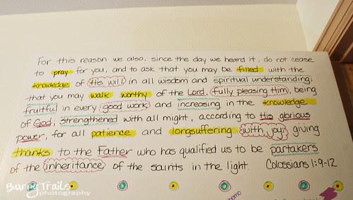 prayer door scripture