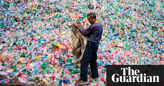 Scientists accidentally create mutant enzyme that eats plastic bottles | Environment | The Guardian