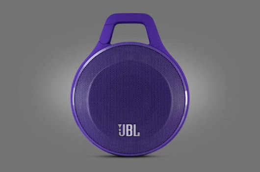 The JBL Clip speaker may be the best use of a carabiner outside rock climbing