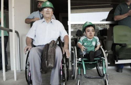 A casa nova do Palmeiras, que será entregue em junho, conta com projeto especial que irá tornar todos os setores do estádio acessível à cadeirantes