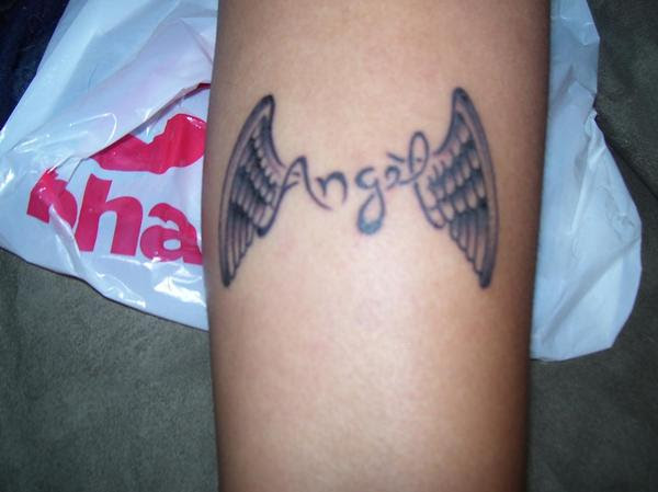 Nice Angel Wings Tattoo Wrist Designs My Coll