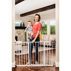 Regalo Easy Open Extra Wide Baby Gate, White