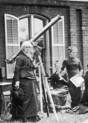 telescope used by astronomer Maria Mitchell