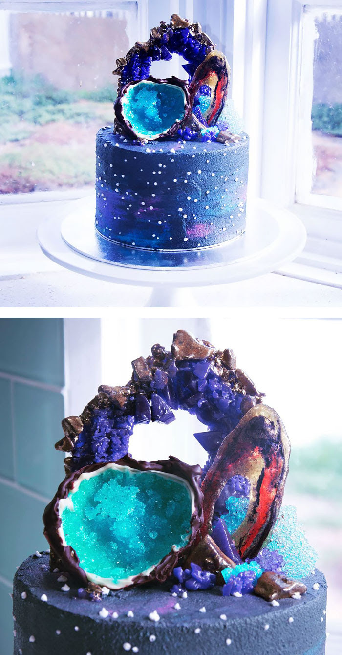 20+ Galaxy Sweets That Are Out Of This World