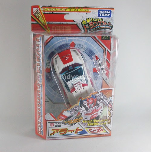 Transformers Red Alert Classics Henkei - caja