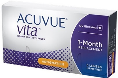 Acuvue Vita for Astigmatism – New Monthly Contact Lens for Astigmatism - Contacts Advice