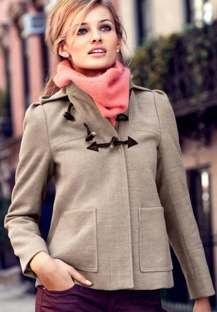 love this jacket! Edita Vilkeviciute