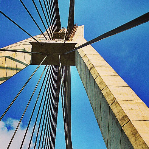 Barelang bridge - Batam Island #traveling #indonesia #instagram  #webstapick  #bridge #structure #batam by be.samyono