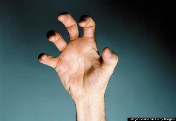 human claw