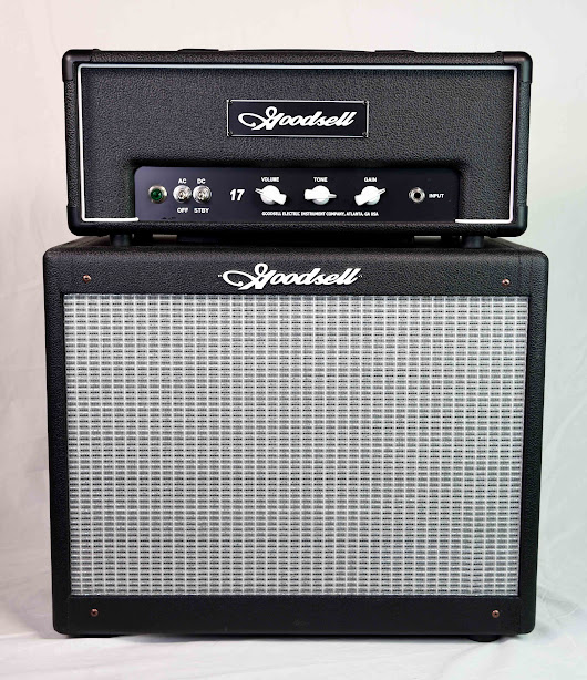Goodsell Super 17 Lunchbox Head & 1×12 Speaker Cabinet  |      Westwood Music | Tradition since 1947