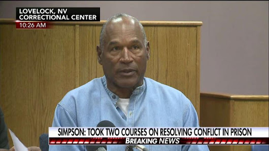 JUST IN: O.J. Simpson Granted Parole, Will Be Released From Prison