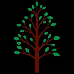 街路樹1 花植物イラスト Flode Illustration フロデイラスト