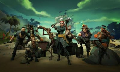 SEA OF THIEVES Is Starting A Worldwide Digital Treasure Hunt! - GameNGadgets