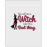 Witch - Bad Thing Aluminum Dry Erase Board